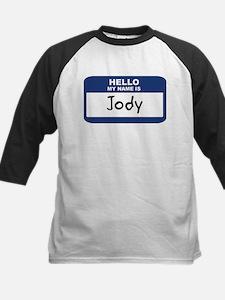 Hello: Jody Kids Baseball Jersey