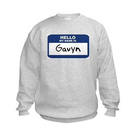 Hello: Gavyn Kids Sweatshirt