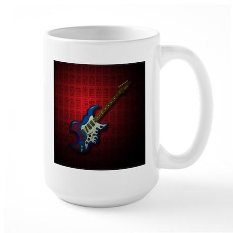 KuuMa Guitar 02 (R) Large Mug