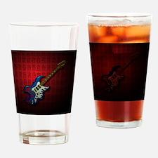 KuuMa Guitar 02 (R) Drinking Glass