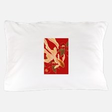 """Kimono Tradisional Design """"Goldfish"""" Pillow Case"""