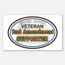 2nd Amendment Supporter Decal
