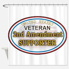 Cute 2nd amendment Shower Curtain