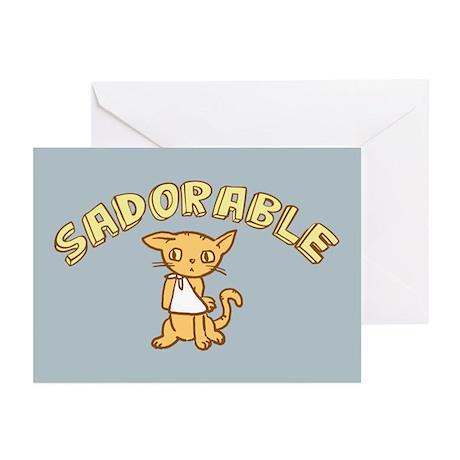 Sadorable Kitten Greeting Cards (Pk of 20)