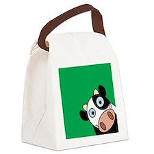 Cute Happy cow Canvas Lunch Bag