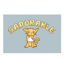 Sadorable Kitten Postcards (Package of 8)