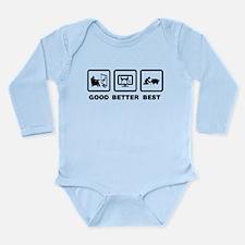 Pig Lover Long Sleeve Infant Bodysuit