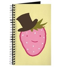 Strawberry In A Top Hat Journal