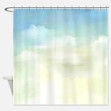 A Bit of Blue Sky Shower Curtain