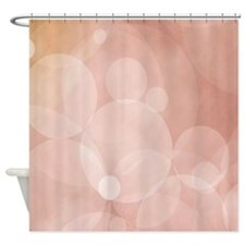 Peach Radiance Shower Curtain