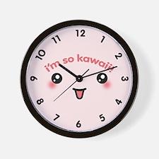 I'm So Kawaii Wall Clock