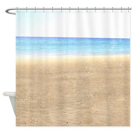 Sea and Sand Beach Shower Curtain