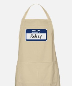 Hello: Kelsey BBQ Apron
