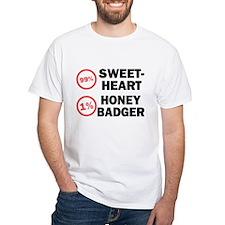 Sweetheart vs. Honey Badger Shirt