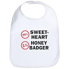 Sweetheart vs. Honey Badger Bib