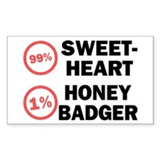 Sweetheart vs. Honey Badger Decal