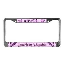 Faerie In Disguise License Plate Frame