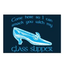 Smack You With My Glass Slipper Postcards (Package