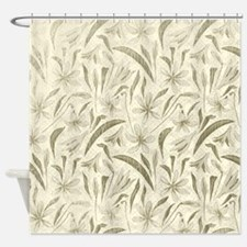 Soft Leafy Shower Curtain