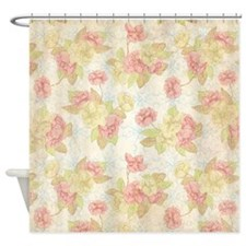 Pretty and Sweet Floral Shower Curtain