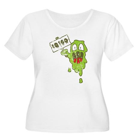 Kotze mit hohem IQ Plus Size T-Shirt