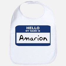 Hello: Amarion Bib