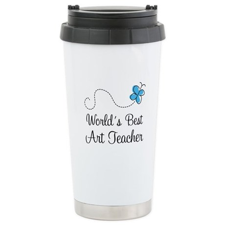 Art Teacher (Worlds Best) Stainless Steel Travel M