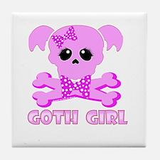 NCIS Abby Goth Tile Coaster