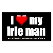 """Love My Irie Man"" Decal"