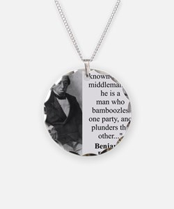 It Is Well Known - Disraeli Necklace