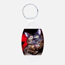 Cute Calico cat Keychains