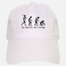 Pay Peanuts Get Monkeys Evolution Baseball Baseball Baseball Cap