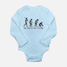 Pay Peanuts Get Monkeys Evolution Body Suit