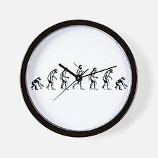Backwards Evolution Wall Clock