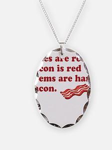 Bacon Poem Necklace