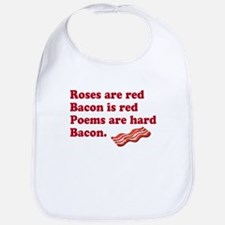 Bacon Poem Bib