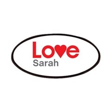 I Love Sarah Patches