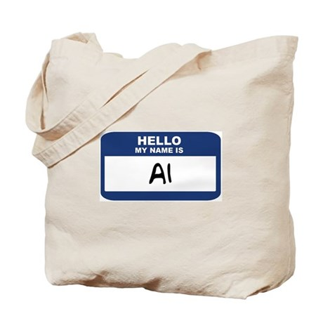 Hello: Al Tote Bag