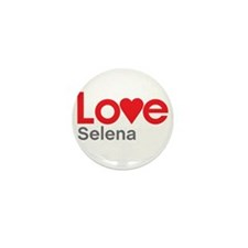 I Love Selena Mini Button (10 pack)