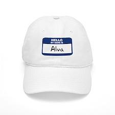 Hello: Alva Baseball Baseball Cap