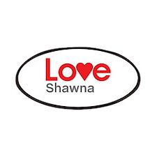 I Love Shawna Patches