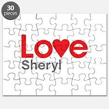 I Love Sheryl Puzzle