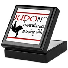 JUDON'T know who your messing with Judo Logo Keeps