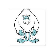 Disgruntled Yeti Rectangle Sticker