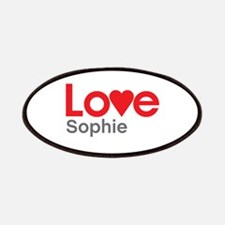 I Love Sophie Patches