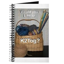 Would You Like To K2tog? Journal