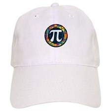 Pi Symbol 2 Baseball Cap