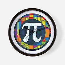 Pi Symbol 2 Wall Clock
