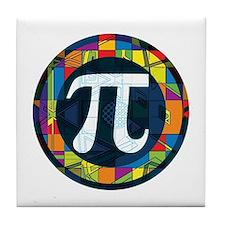 Pi Symbol 2 Tile Coaster