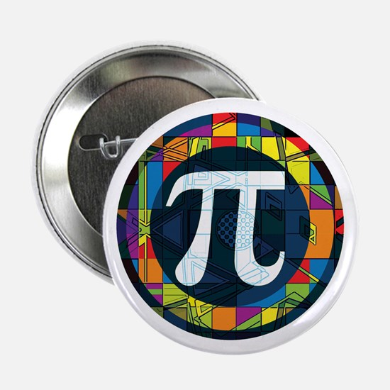 "Pi Symbol 2 2.25"" Button (10 pack)"